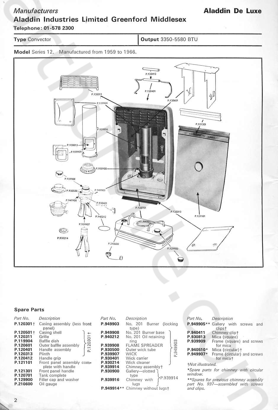 vulcan oil heater lighting instructions